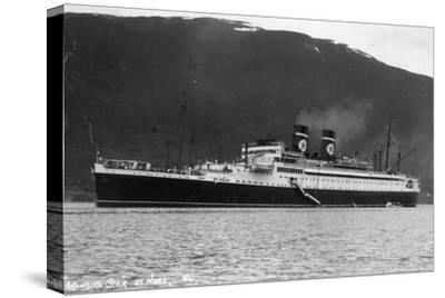 Blue Star Line Cruise Ship SS Arandora Star, Norway, C1927-C1939--Stretched Canvas Print