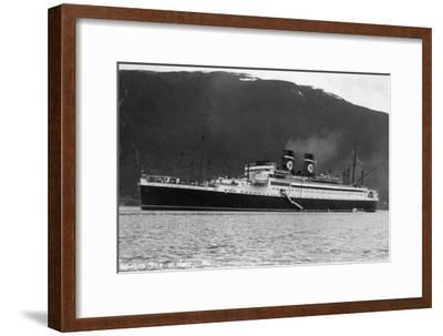 Blue Star Line Cruise Ship SS Arandora Star, Norway, C1927-C1939--Framed Giclee Print