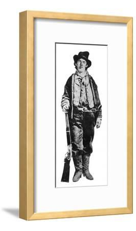 Billy the Kid, American Gunman and Outlaw, C1877-1881--Framed Giclee Print