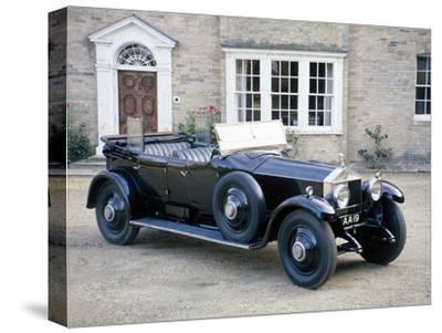 A 1925 Rolls-Royce Phantom I--Stretched Canvas Print