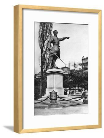 Monument to Charles XII, Gardens Behind the Royal Opera House, Stockholm, Sweden, C1923--Framed Giclee Print