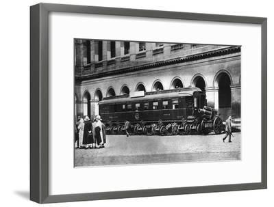 Railway Carriage in Which the Armistice Ending World War I Was Signed, C1918--Framed Giclee Print
