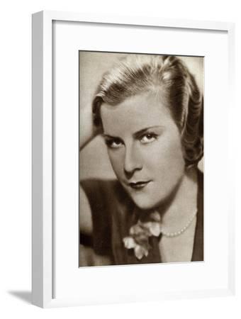 Renate Müller, German Actress, 1933--Framed Giclee Print