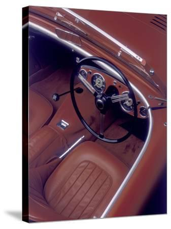 1956 Austin Healey 100-BN2--Stretched Canvas Print