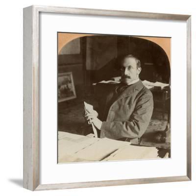 Sir Alfred Milner, British Statesman, 1900--Framed Giclee Print