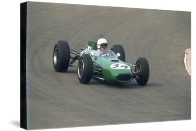 Bob Anderson Driving a Brabham Climax, Dutch Grand Prix, Zandvoort, Holland, 1964--Stretched Canvas Print