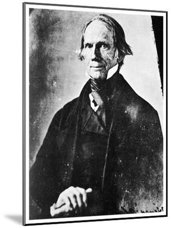 Henry Clay, American Statesman, 1850-MATHEW B BRADY-Mounted Giclee Print