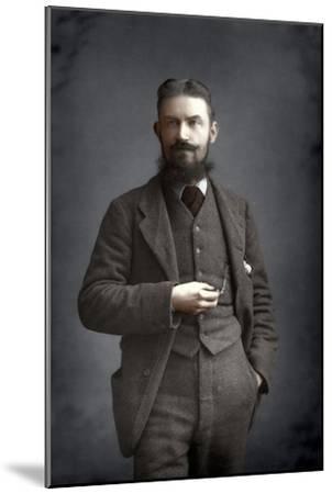 George Bernard Shaw, Irish Dramatist, Critic and Fabian, 1893-W&d Downey-Mounted Giclee Print