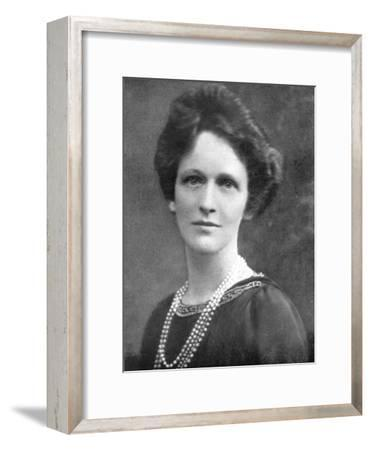 Lady Astor (1879-196), American-Born British Politician, 1926--Framed Giclee Print