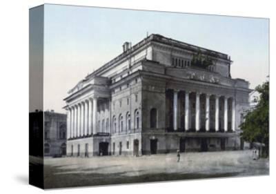 The Alexandrinsky Theatre, St Petersburg, Russia, C1890-C1905--Stretched Canvas Print