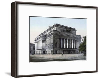 The Alexandrinsky Theatre, St Petersburg, Russia, C1890-C1905--Framed Giclee Print