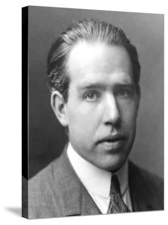 Niels Bohr, Danish Physicist, C1922--Stretched Canvas Print