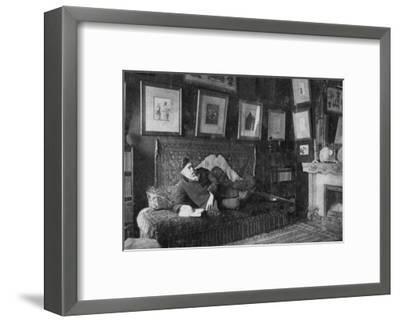 Edmond De Goncourt, French Author, 1891--Framed Giclee Print