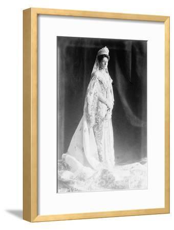 Tsarina Alexandra of Russia, Early 20th Century--Framed Giclee Print