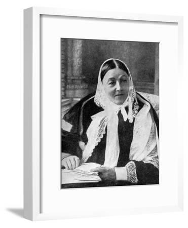 Florence Nightingale (1820-191), C1900s--Framed Giclee Print