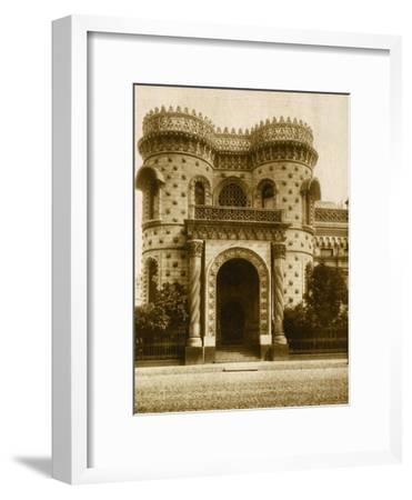 The Morozov House, Vozdvizhenka Street, Moscow, Russia, Early 20th Century--Framed Giclee Print