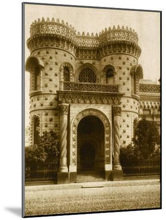 The Morozov House, Vozdvizhenka Street, Moscow, Russia, Early 20th Century--Mounted Giclee Print