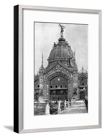 The Central Dome, Universal Exposition, Paris, 1889--Framed Giclee Print