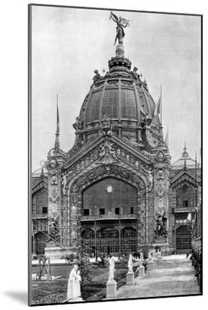 The Central Dome, Universal Exposition, Paris, 1889--Mounted Giclee Print