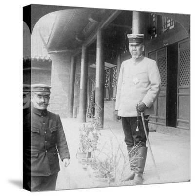 Field Marshal Marquis Oyama Iwao, Japanese Soldier, Mukden, Manchuria, 1906-Underwood & Underwood-Stretched Canvas Print