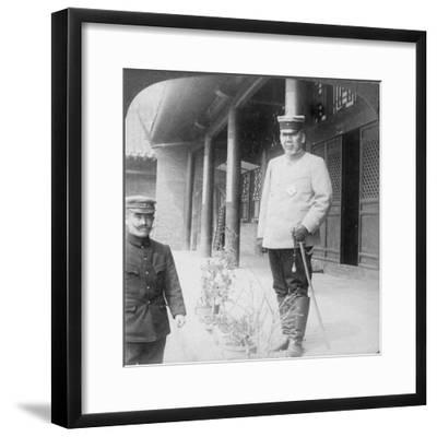 Field Marshal Marquis Oyama Iwao, Japanese Soldier, Mukden, Manchuria, 1906-Underwood & Underwood-Framed Giclee Print