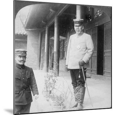 Field Marshal Marquis Oyama Iwao, Japanese Soldier, Mukden, Manchuria, 1906-Underwood & Underwood-Mounted Giclee Print
