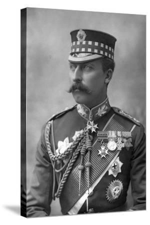 Prince Arthur (1850-194), Duke of Connaught, 1890-W&d Downey-Stretched Canvas Print