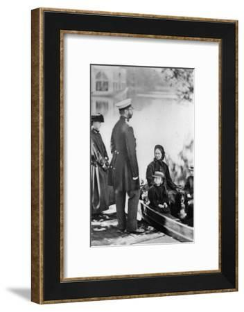 Tsar Alexander II of Russia and Members of His Family, C1863-C1865--Framed Giclee Print