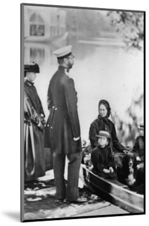Tsar Alexander II of Russia and Members of His Family, C1863-C1865--Mounted Giclee Print