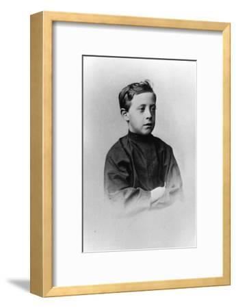 Grand Duke Nicholas Nikolaevich (The Younge) of Russia, C1861-C1863--Framed Giclee Print