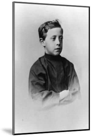Grand Duke Nicholas Nikolaevich (The Younge) of Russia, C1861-C1863--Mounted Giclee Print