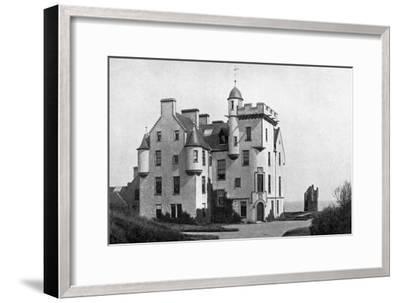 Keiss Castle, Caithness, Scotland, 1924-1926-Valentine & Sons-Framed Giclee Print