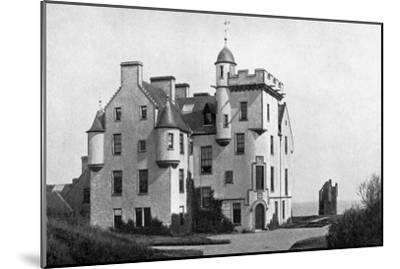 Keiss Castle, Caithness, Scotland, 1924-1926-Valentine & Sons-Mounted Giclee Print