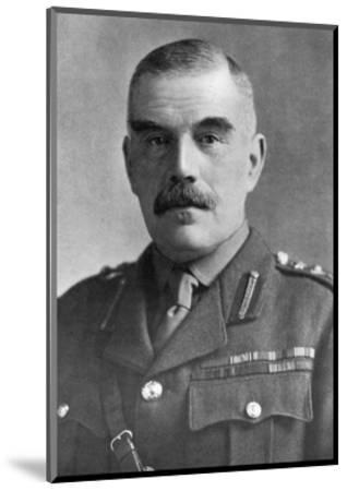 General Sir William Robertson, British Soldier, C1920--Mounted Giclee Print