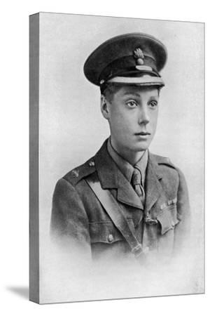 Edward, Prince of Wales, First World War, 1914-1918--Stretched Canvas Print