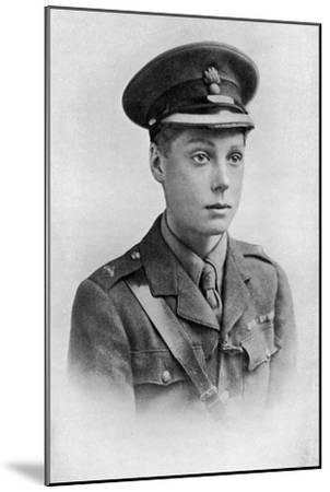 Edward, Prince of Wales, First World War, 1914-1918--Mounted Giclee Print