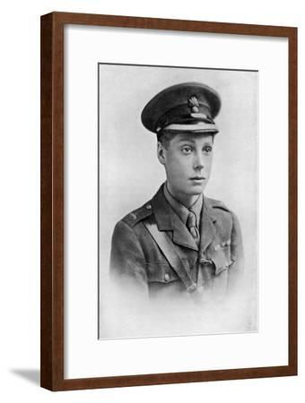 Edward, Prince of Wales, First World War, 1914-1918--Framed Giclee Print