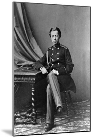 Grand Duke Nicholas Alexandrovich of Russia, 1862--Mounted Giclee Print