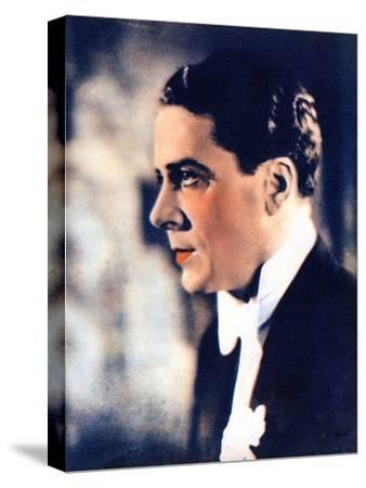 Jack Buchanan, British Actor and Singer, 1934-1935--Stretched Canvas Print
