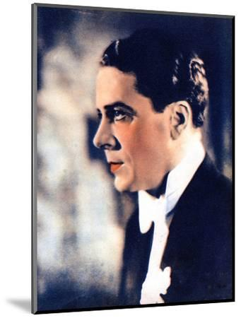 Jack Buchanan, British Actor and Singer, 1934-1935--Mounted Giclee Print