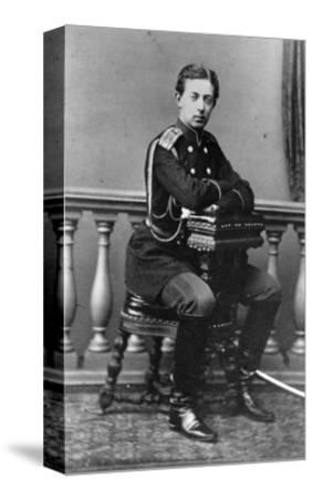 Grand Duke Nicholas Alexandrovich of Russia, C1860-C1865--Stretched Canvas Print