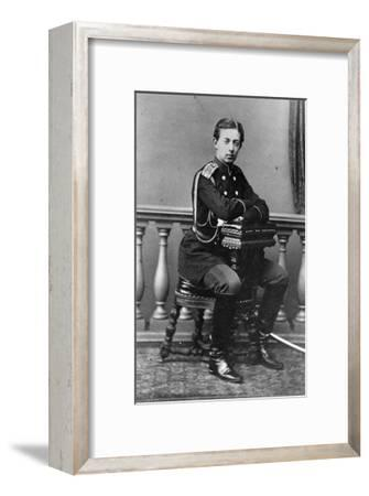 Grand Duke Nicholas Alexandrovich of Russia, C1860-C1865--Framed Giclee Print