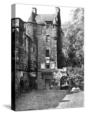 Ferniehirst Castle, Jedburgh, Borders, Scotland, 1924-1926-Valentine & Sons-Stretched Canvas Print
