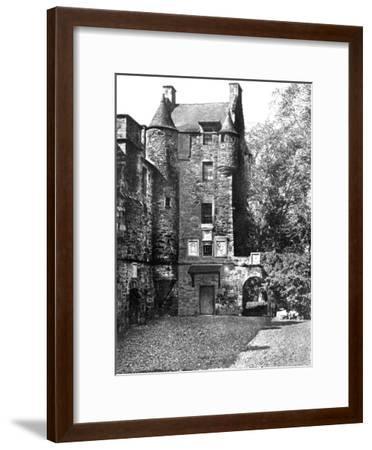 Ferniehirst Castle, Jedburgh, Borders, Scotland, 1924-1926-Valentine & Sons-Framed Giclee Print
