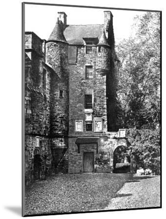 Ferniehirst Castle, Jedburgh, Borders, Scotland, 1924-1926-Valentine & Sons-Mounted Giclee Print