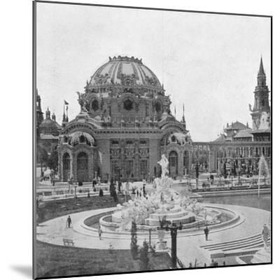 Temple of Music at the Pan-American Exhibition at Buffalo, 1901--Mounted Giclee Print