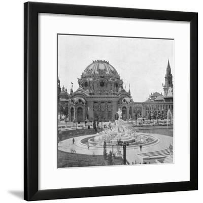 Temple of Music at the Pan-American Exhibition at Buffalo, 1901--Framed Giclee Print