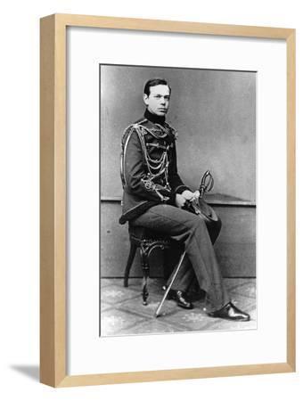 Grand Duke Alexander Alexandrovich of Russia, C1860-C1862--Framed Giclee Print