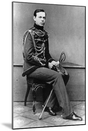 Grand Duke Alexander Alexandrovich of Russia, C1860-C1862--Mounted Giclee Print