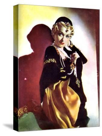 Constance Bennett, American Actress, 1934-1935--Stretched Canvas Print